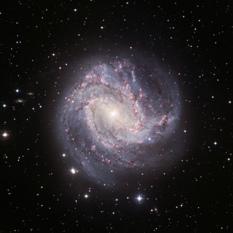 Barred Spiral Messier 83
