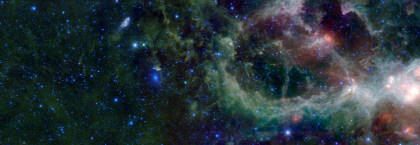 A piece of the Heart Nebula