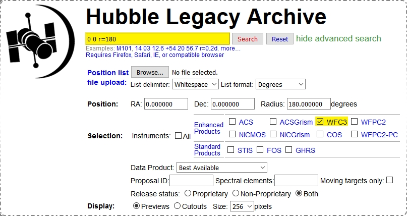 Downloading Hubble Data | The Planetary Society