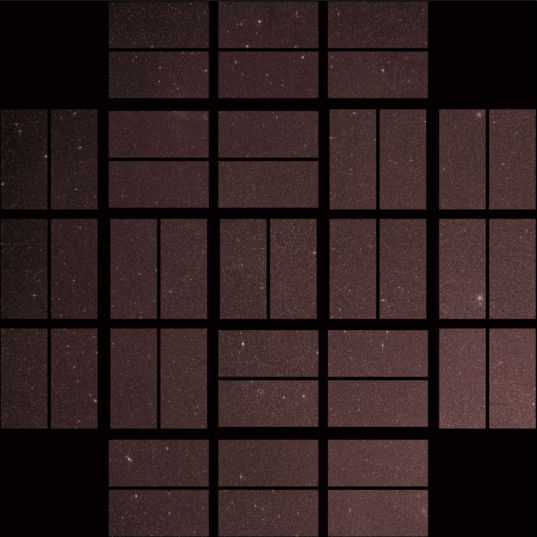 Kepler's first light image