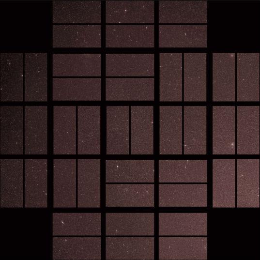 Kepler's first light image