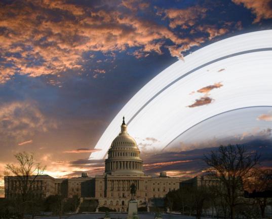 Rings over Washington D.C.