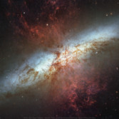 Wallpaper: M82, the Cigar Galaxy