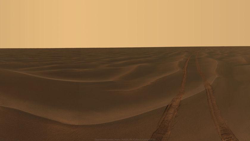 "Wallpaper: Opportunity ""Rub Al Khali"" Panorama, sols 456-464"
