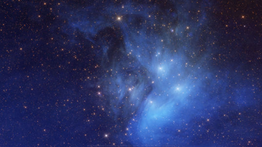 Wallpaper: Blue WISE Pleiades