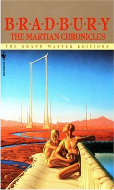 Cover of Ray Bradbury's The Martian Chronicles