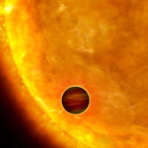 A Planetary Transit