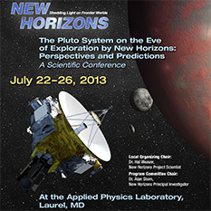 Pluto on the Eve of Exploration by New Horizons meeting, July 2013