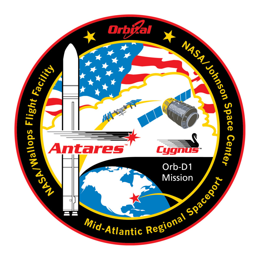 ORB-D1 Mission Patch
