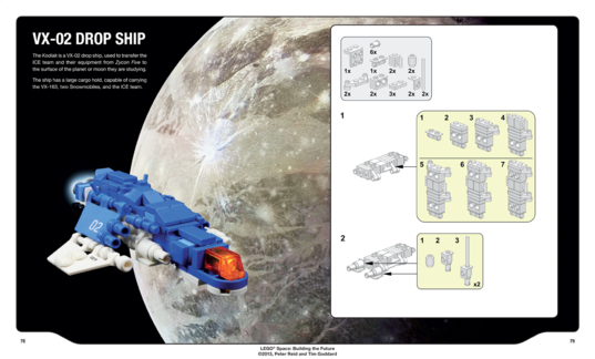 LEGO Ganymede Drop-ship