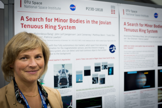 Anastassia Malinnikova Bang of DTU Space, National Space Institute, Denmark