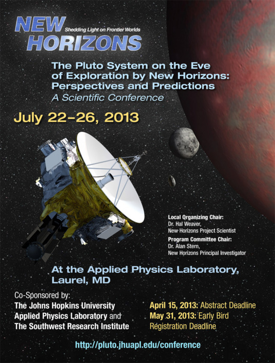 New Horizons Pluto conference poster