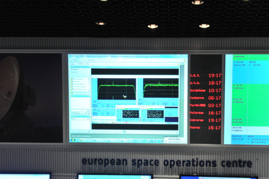 Signal received from Rosetta