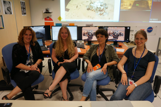 Curiosity Women's Day: Operations at the French Instrument Mars Operation Centre for MSL
