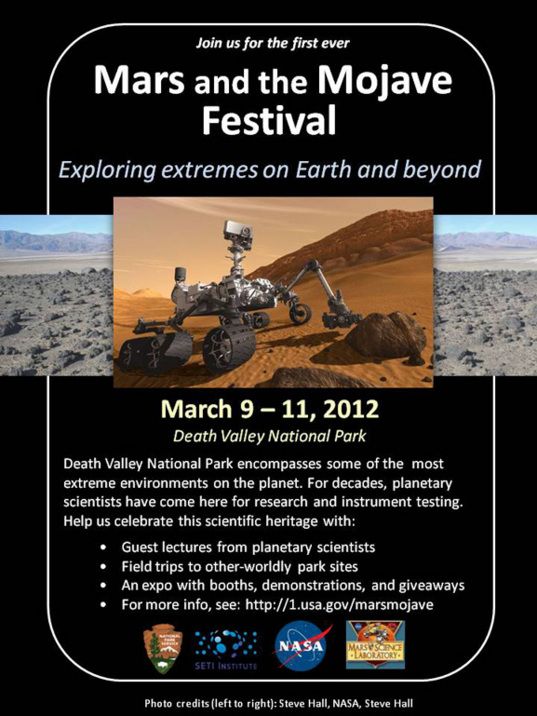 Mars and the Mojave festival