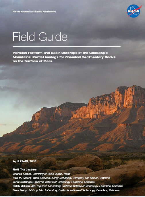MarsSed 2010 Field Guide