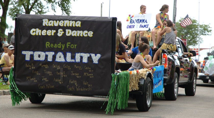 Ravenna eclipse parade