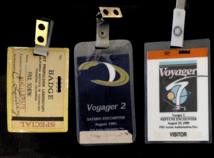 My Voyager badges