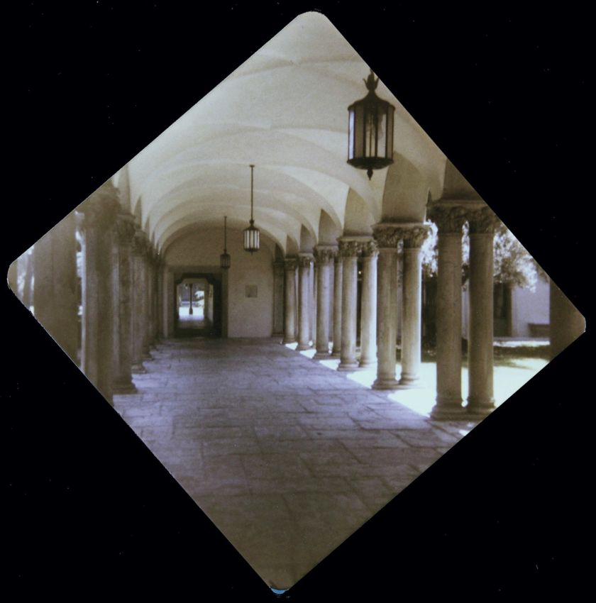 Halls at Ricketts House, Caltech, home for the Summer of '79