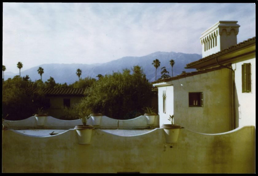 Rooftop at Ricketts House, Caltech, home for the Summer of '79