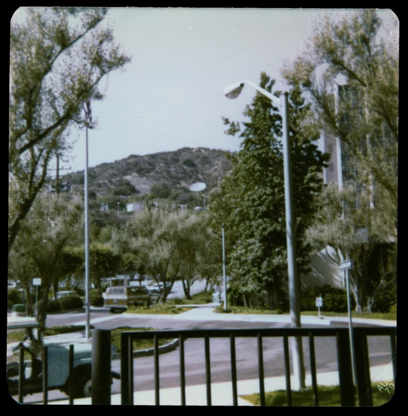 The JPL entrance in those days