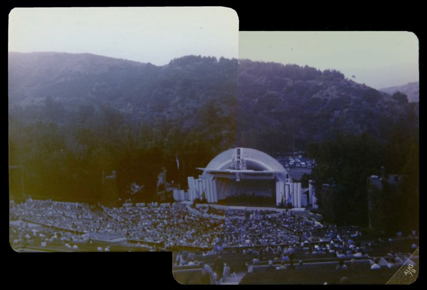 Hollywood Bowl, just before Bugs Bunny got to it I assume
