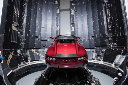 Space Tesla