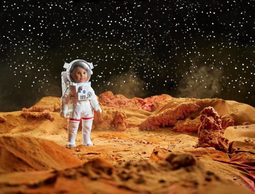 Luciana Vega, American Girl of the Year 2018, on Mars