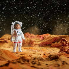 Luciana Vega, American Girl of the Year 2018, on Mars