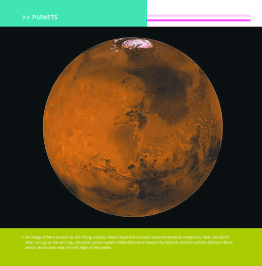 Astronomy for Kids: Mars Page
