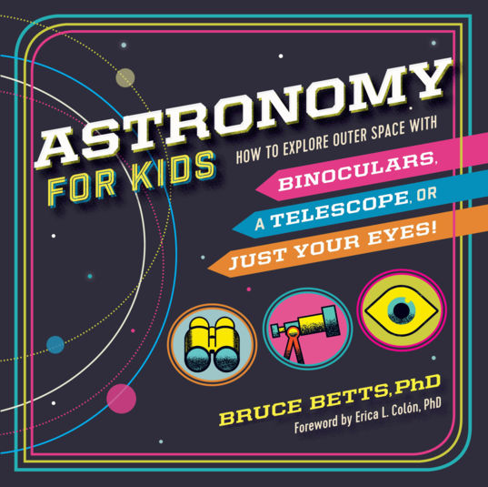 Astronomy for kids (cover)