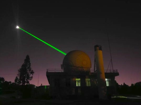 Yunnan Observatory laser ranging system