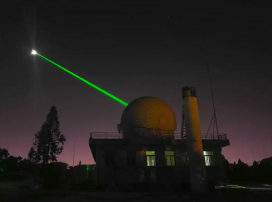 Yunnan Observatory laser ranging system