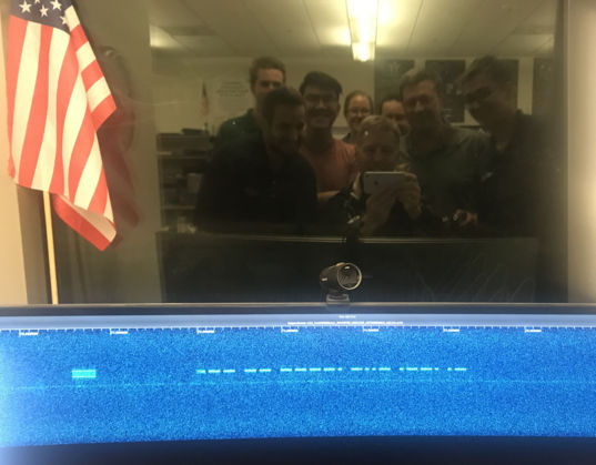 LightSail 2 morse code selfie