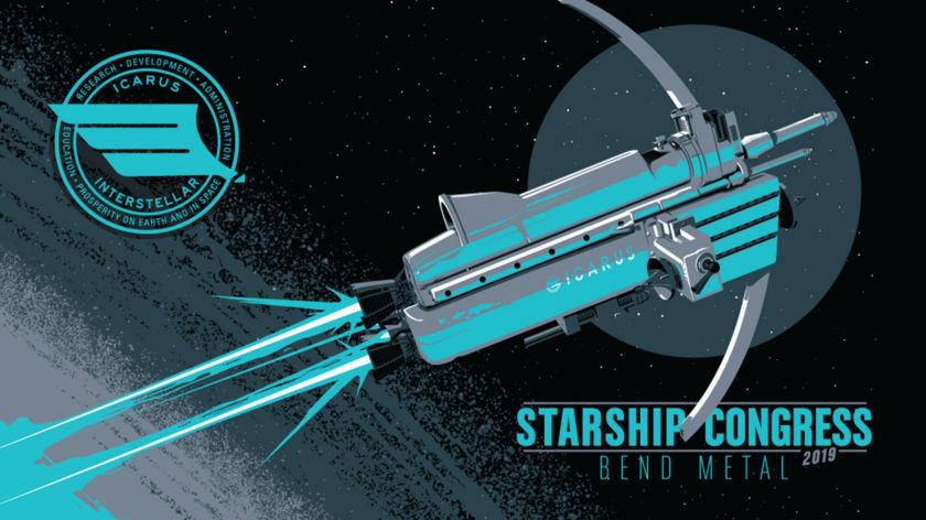 Starship Congress 2019 poster