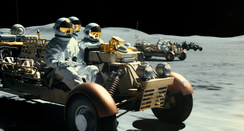 Ad Astra movie moon car chase