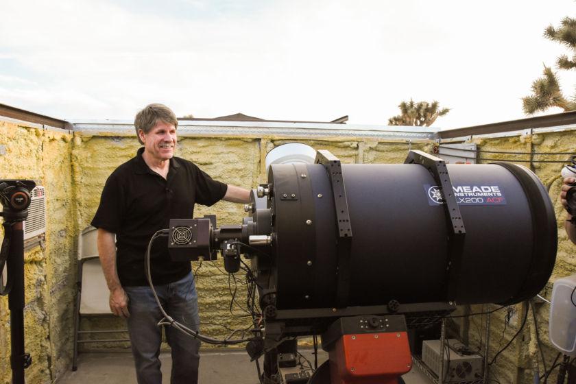 Bob Stephens and Telescopes
