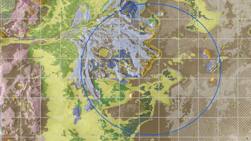 Early 2020 Geologic Map of Jezero Crater (inset for thumbnails)