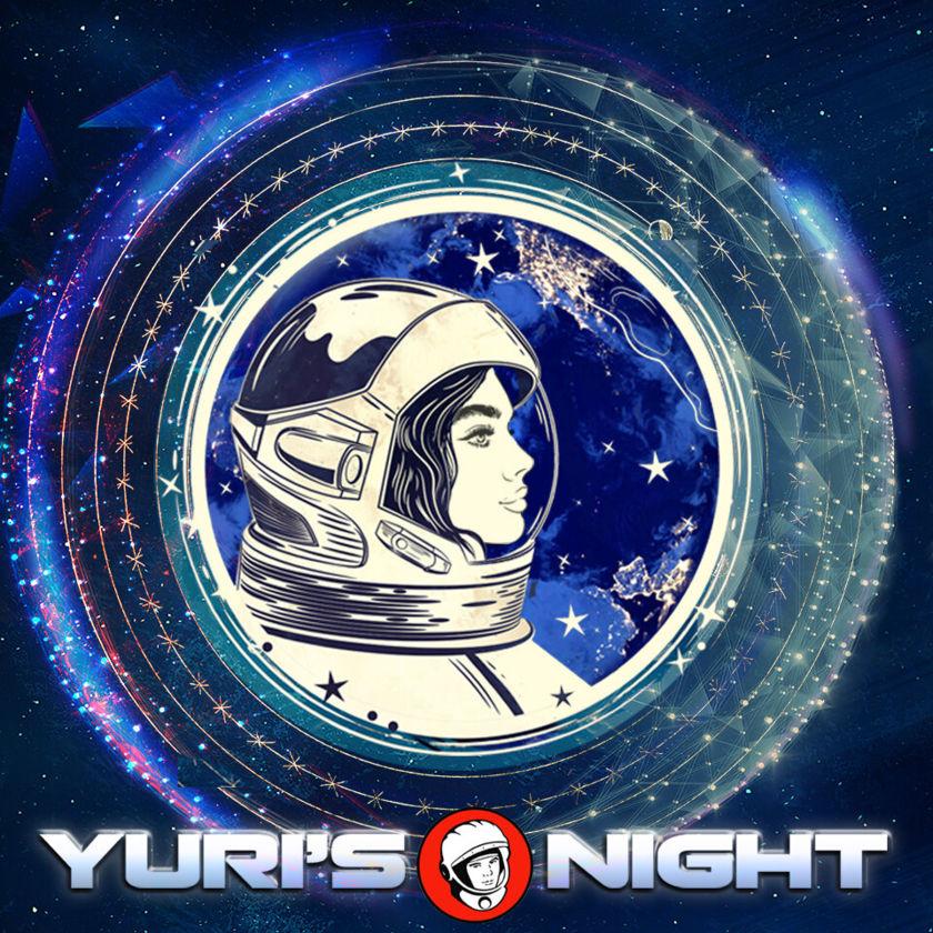 Yuri's Night 2020 artwork