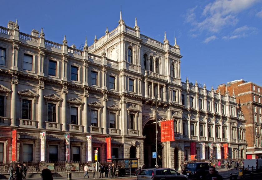 Burlington House, the home of the Royal Astronomical Society