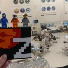 Mastcam-Z Lego Logo in the High Bay