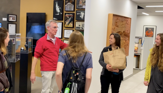 Bill Nye Leads a Tour of the Planetary Society's Headquarters