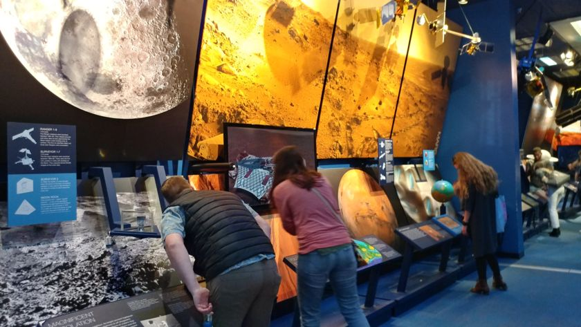 Soaking up Space Exploration History at the JPL Museum