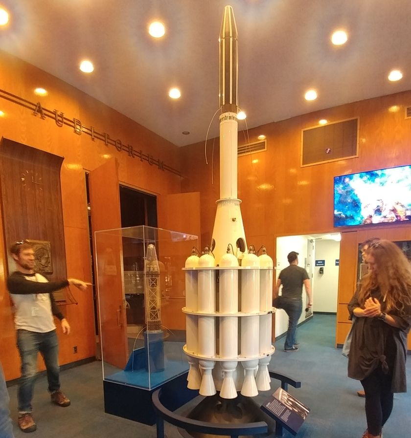At the JPL Museum, Justin Foley Explains Explorer 1's Design