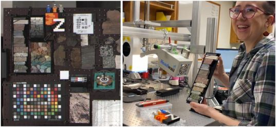 Rock Targets Studied for Mastcam-Z's Instrument Calibration