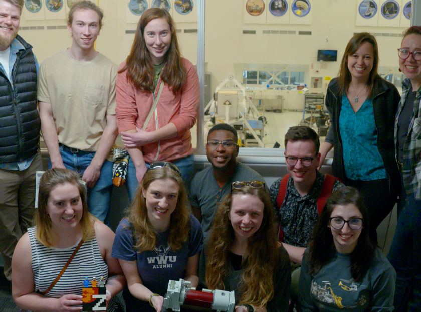 WWU Research Group in the High Bay