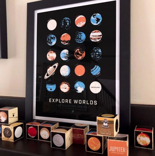 Explore Worlds poster