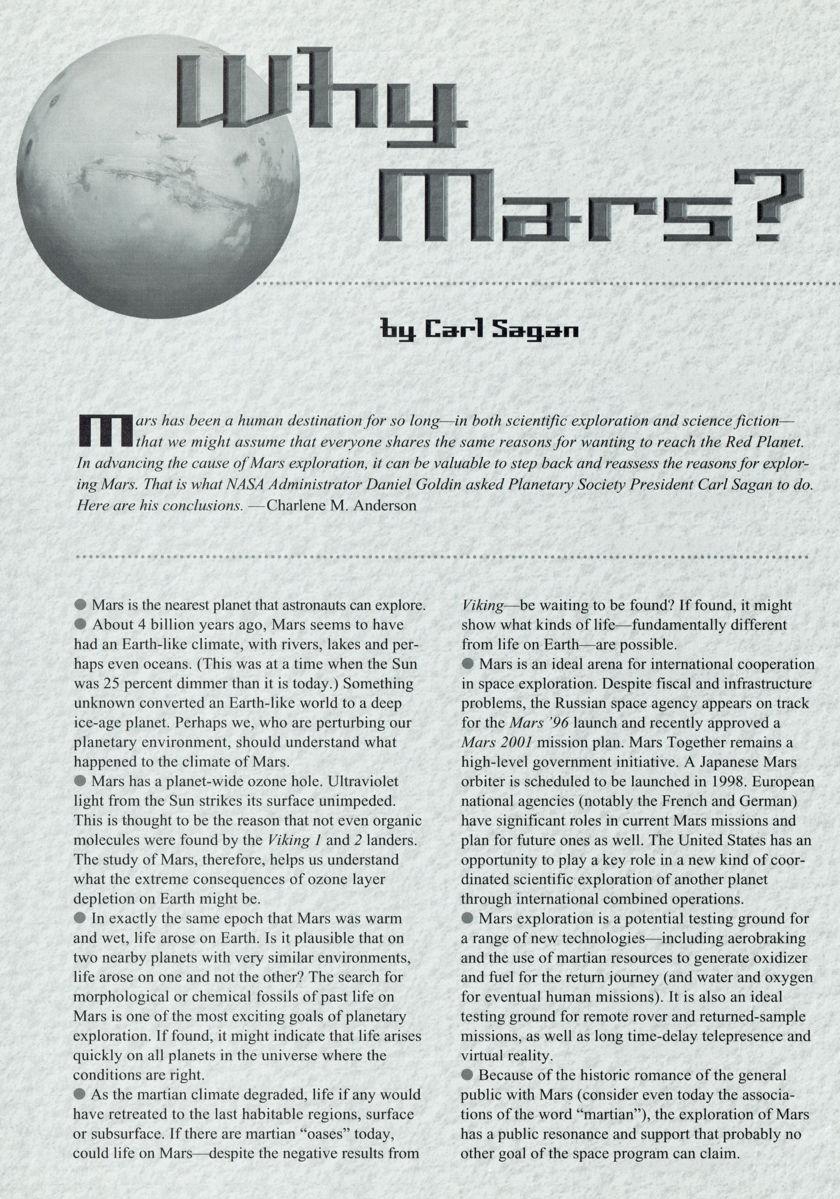 Carl sagan essays