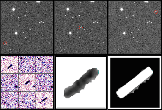 Processing method to reveal fast-moving asteroids
