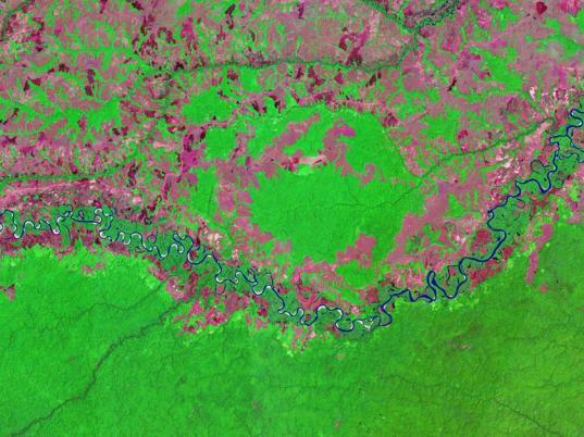 Rio Vichada Impact Structure, Colombia
